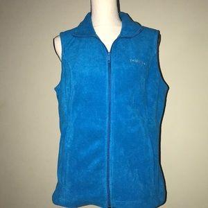 Columbia zip up vest size medium